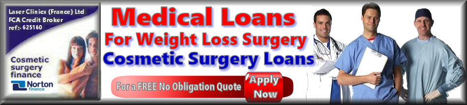 medical loans and finance for weight loss surgery